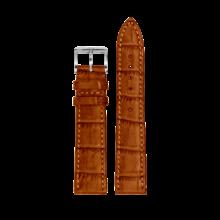 MeisterSinger MEISTERSINGER horlogeband 20MM Donker bruin met wit stiksel SG02W - Copy - Copy - Copy