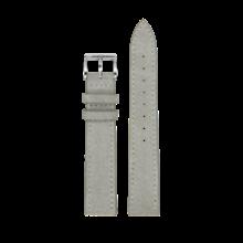 MeisterSinger MEISTERSINGER horlogeband 18MM grijs velours SV16