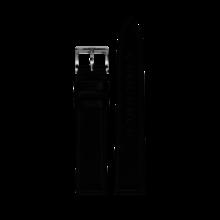 MeisterSinger MEISTERSINGER horlogeband 20MM zwart leer glad SCF01