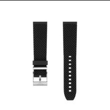 Breitling Breitling horlogeband 22 MM zwart rubber met gesp 278S