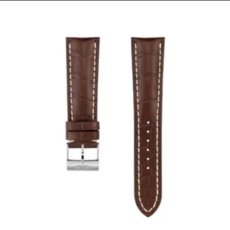 Breitling Breitling horlogeband 22MM bruin crocoleer met gesp 739P
