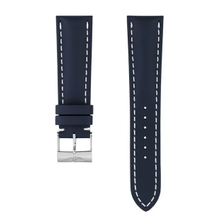 Breitling Breitling horlogeband 24MM blauw  kalfsleer met gesp 101X