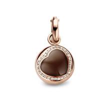 Tirisi Moda TIRISI Bedel 18k roségoud met maansteen en diamant TP 6041CMSP(2P)