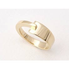 NOL sieraden NOL 14k geelgouden ring AU81127.7