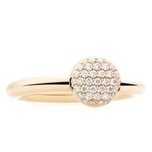 Bron BRON Ring Stardust 18k Witgoud met 0.27ct diamant 8RW4717BR - Copy