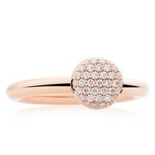 Bron BRON Ring Stardust 18k Roségoud met 0.27ct diamant 8RR4717BR
