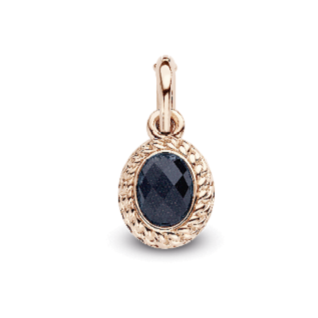 Tirisi Moda TIRISI Armband zwart leer met zilver en 18k roségoud en diamant TM2133BL-2P - Copy - Copy - Copy - Copy - Copy - Copy - Copy