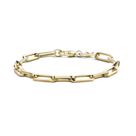 Blush Blush armband 14k geelgoud gourmet 18.5cm 2165YGO - Copy - Copy - Copy