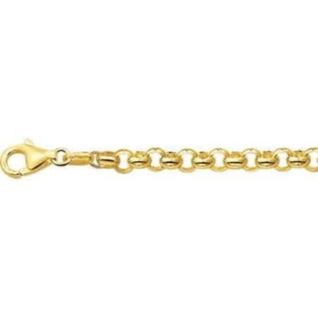HuisCollectie Huiscollectie Jasseron armband 14 karaat geelgoud 606795