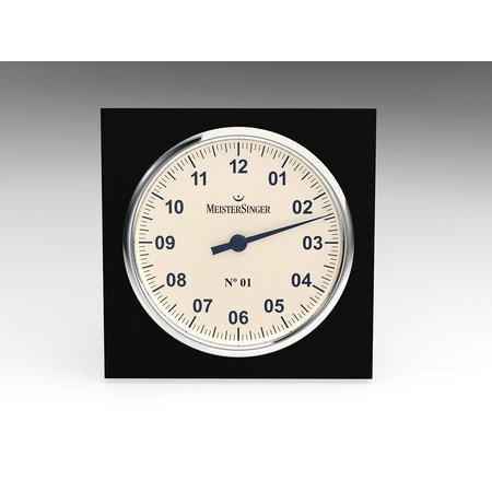 MeisterSinger MeisterSinger tafelklok Glas 18cm WU18 - Copy