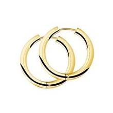 Mrs.Janssen Mrs.Janssen Creolen 14k roségoud met 0.27ct diamant H/Si 605330 - Copy - Copy