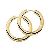 Mrs.Janssen Mrs.Janssen Creolen 14k roségoud met 0.27ct diamant H/Si 605330 - Copy - Copy - Copy