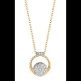 Tirisi Moda TIRISI Collier Amsterdam 18k roségoud met 0.22ct diamant TP9154D(2P) - Copy