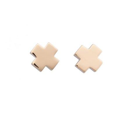 Bron BRON Oorknoppen Joy 18k Roségoud met 0.20ct diamant G/VVS 8OR4805BR - Copy
