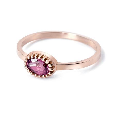 MissSpring Miss Spring Ring MSR510RH-RG 14k Rosélgoud met Rhodoliet