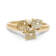 R&C R&C Nous Ring 14k Geelgoud met natuurlijke diamant RNOUS33GG