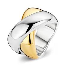Tirisi Moda TIRISI Moda Ring Bohemian Due met 18k Geelgoud TM1072-2T