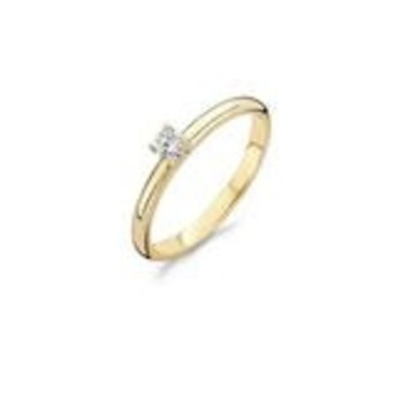 Blush Blush ring 14k witgoud zirkonia 1129WZI - Copy - Copy