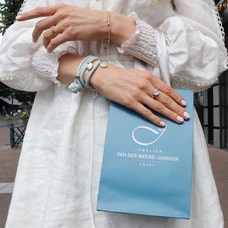 Mrs.Janssen Mrs.Janssen Armband 14k geelgoud  Staafjes 19cm 606248