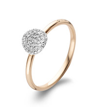 Bigli BIGLI Ring Mini Leaves 18k Roségoud met 0.45ct diamant 23R190RWdia - Copy - Copy - Copy - Copy