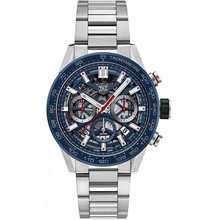 Tag Heuer TAG Heuer Carrera Heuer 02 Automatic Mens Blue Steel Chronograph CBG2011.BA0662