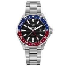 Tag Heuer TAG Heuer Aquaracer Calibre 7 GMT Automatic Mens Black Steel WAY201F.BA0927