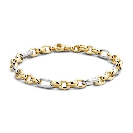 Blush Blush armband 14krt bicolor goud 19cm 2170BGO