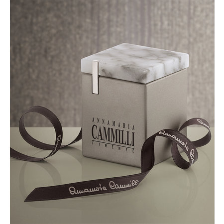 Annamaria Cammilli Annamaria Cammilli Creolen Seta 18k Geelgoud met 0.20ct diamant GOR2556U