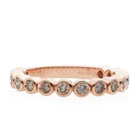 Bron BRON Ring Confetti 18k Roségoud met champagne diamant 8RR4713CBR