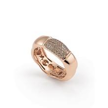 AL CORO AL CORO La Piazza Ring 18k Roségoud met champagne diamant NR824BR