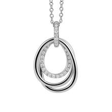 AL CORO AL CORO Serenata Hanger 18k Witgoud met diamant P623WW