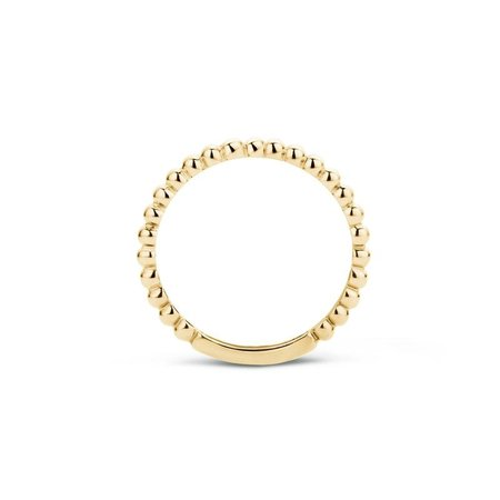 Blush Blush Ring 14k geelgoud met bolletjes 1105YGO-54