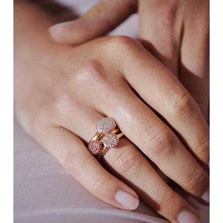 Bron BRON Ring Stardust 18k Witgoud met 0.27ct diamant 8RW4717BR