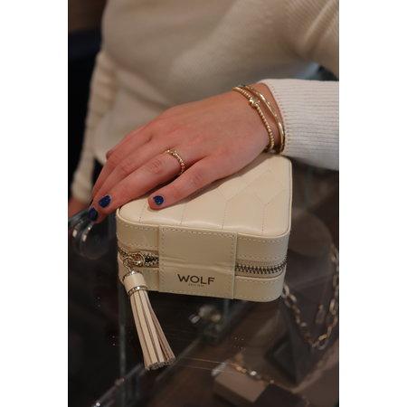 Bron BRON Armband Reflex 18k geelgoud met kusje 7AG4006