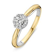HuisCollectie HuisCollectie Ring 14k goud briljant 0.33crt H/SI 602246