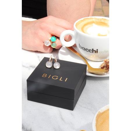 Bigli Bigli Ring Mini Sweety 18krt Roségoud met Quartz Rutile Moonshine- 20R88Rrutmpbi