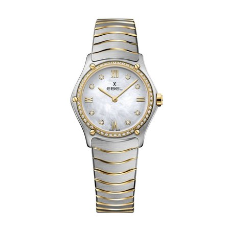 Ebel EBEL Sport Classic Quartz Diamonds 29mm 1216390