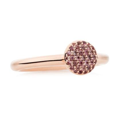 Bron BRON Ring Stardust 18k Roségoud met roze korund 8RR4717IK