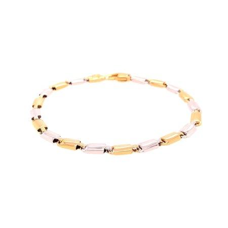 HuisCollectie HuisCollectie Armband 14k Bicolor Goud 607237