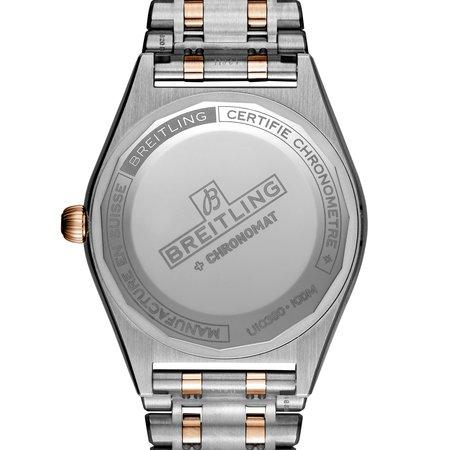 Breitling Breitling Chronomat Automatic 36 mm staal en 18k Roségoud U10380591K1U1