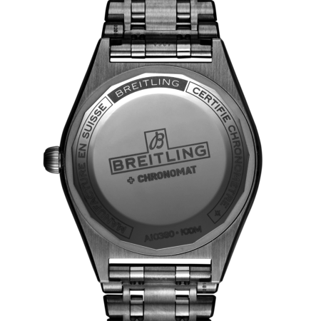 Breitling Breitling Chronomat 32 mmn staal  met diamant op de lunette - A77310591A1A1
