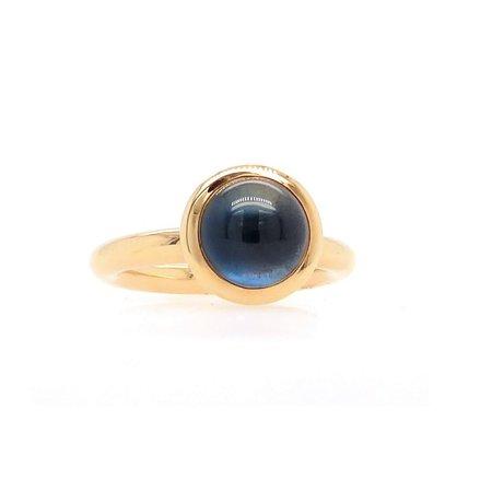 Bron BRON Ring Sushi 18k Geelgoud met London Blue Topaas 8RG4709TLC