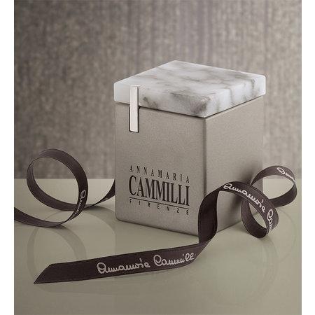 Annamaria Cammilli Annamaria Cammilli Ring Dune Assolo 18k witgoud met 0.11ct diamant GAN1421W