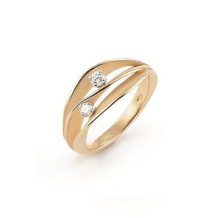 Annamaria Cammilli Annamaria Cammilli Ring Dune 18k Roségoud met 0.14ct diamant GAN1941J