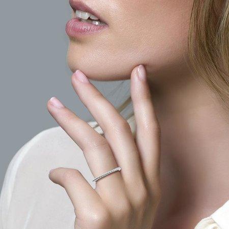 Blush Blush Ring 14k witgoud tors 1118WGO