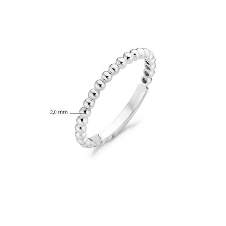 Blush Blush ring 14k witgoud 1105WGO