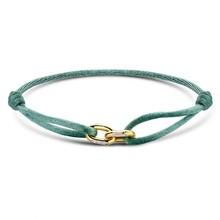 Minitials Minitials Two Unchained V2 roségoud satin bracelet