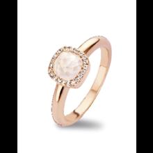 Tirisi Moda Tirisi Milano Mini Sweeties Ring 18k Roségoud met parelmoer en diamant  TR9624WQP