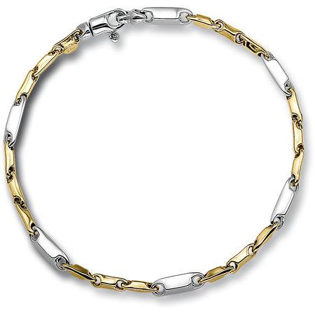 HuisCollectie HuisCollectie Armband 14k Bicolor goud 22725