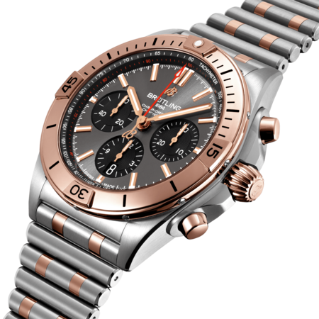 Breitling Breitling Chronomat B01 42mm Staal/18k Goud UB0134101B1U1